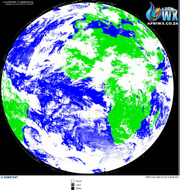 Southern Africa Weather Satellite Photos | Images | Pictures