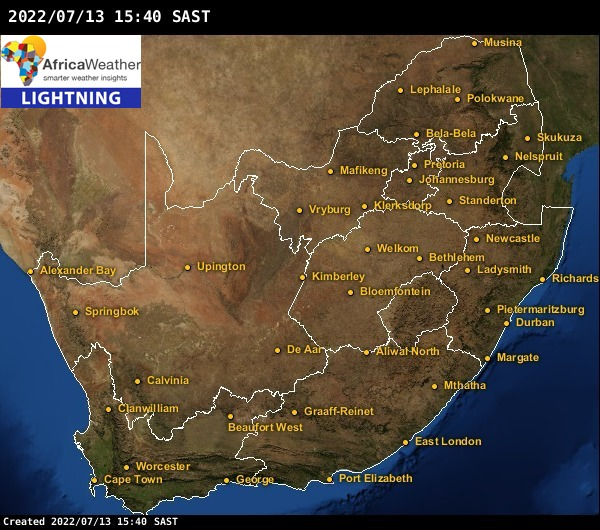 Thornton Colorado Weather With Realtime Conditions Radar: Radar Storms & Lightning Strikes Weather Maps For South Africa
