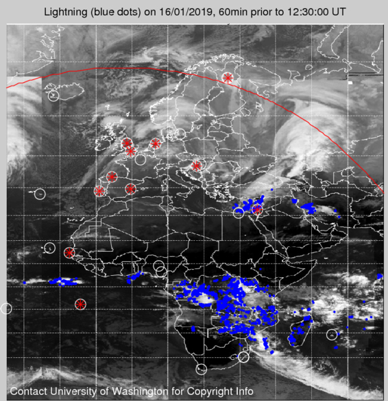 Lightning Strikes Africa and Europe in Near Real Time on weather forecast europe map, european union countries map, live weather satellite india map, colorado rocky mountain topographic map, weather satellite california map, weather satellite south america, weather africa satellite map, weather satellite caribbean, weather satellite middle east,